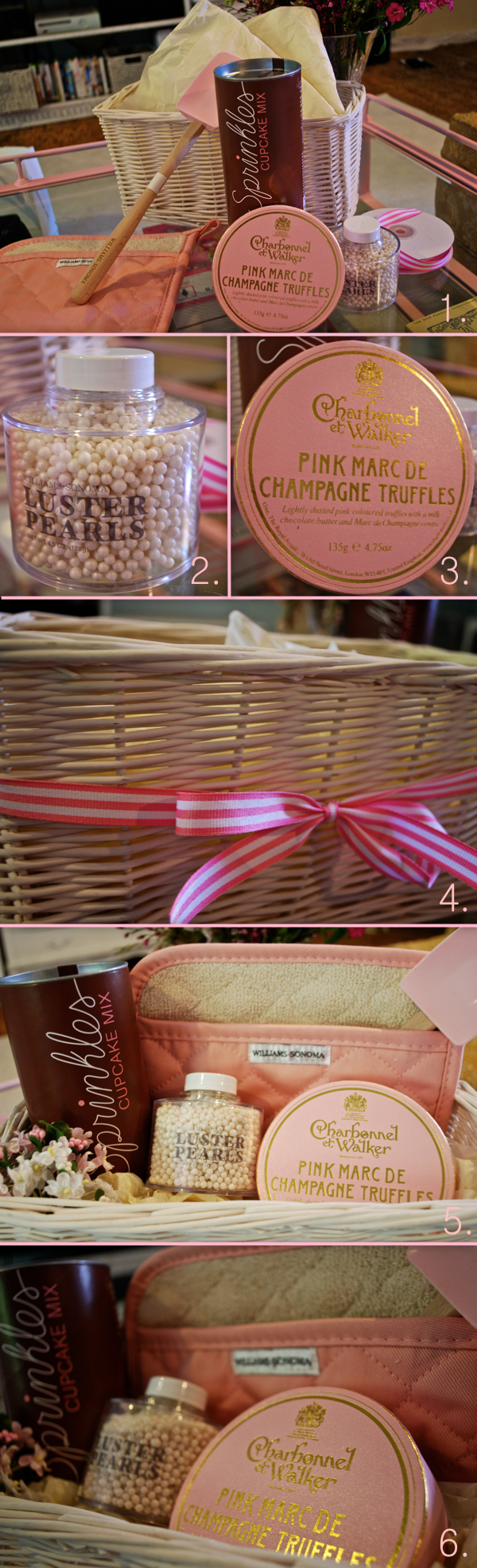 How-To: Make the Perfect Gift Basket | Blonder Ambitions