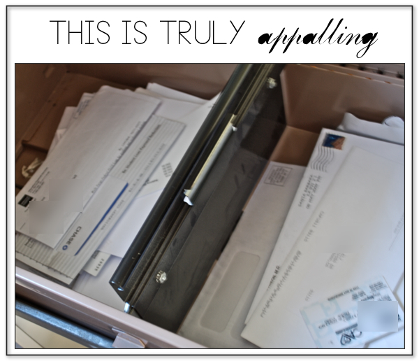 USE A FILING CABINET LIKE A GROWN UP